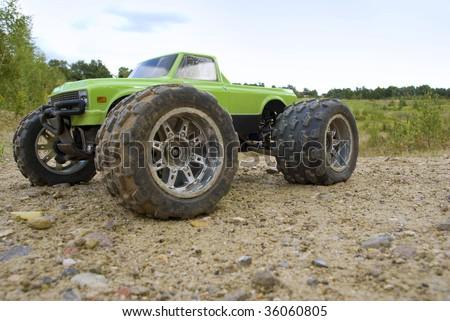 Monster Truck - stock photo