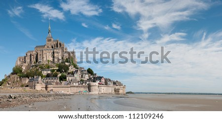 Mont Saint Michel. France - stock photo