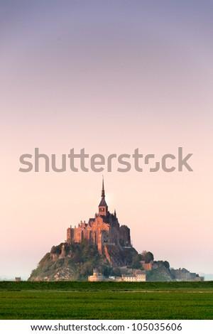 Mont saint Michel - Paris - France - stock photo
