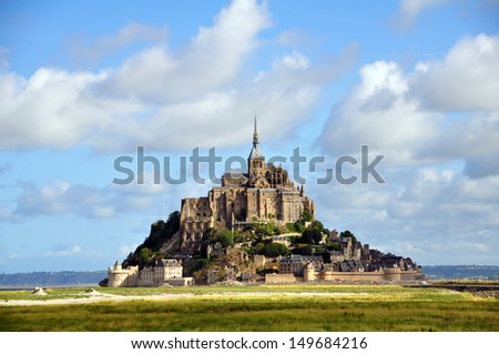 Mont Saint Michele, France  - stock photo