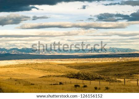 Montana Sky - stock photo