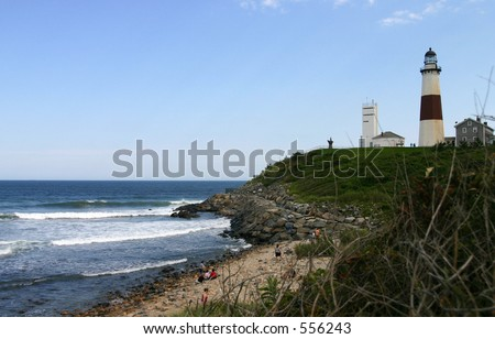 Montauk Lighthouse - stock photo