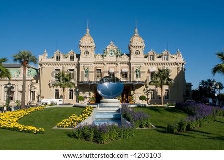 Monte-carlo Casino - stock photo