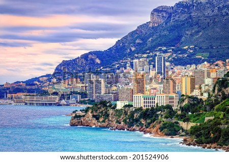 Monte Carlo, Monaco - stock photo