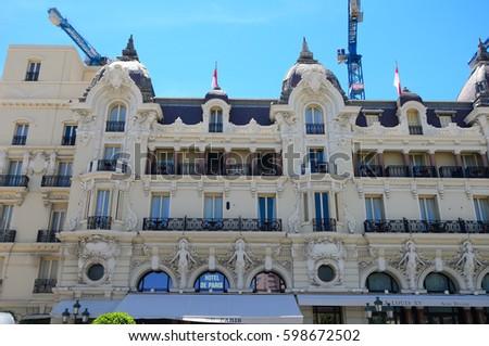 Hotel De Paris Monaco Stock Images Royalty Free Vectors