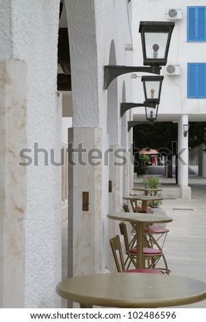 Montenegro beautiful resort - stock photo