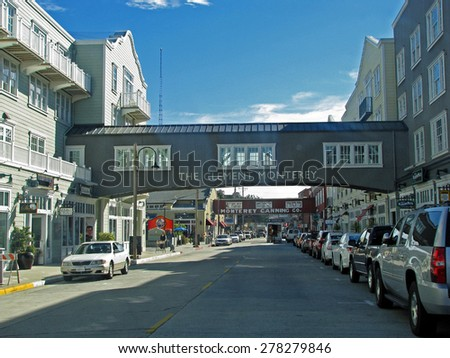 MONTEREY, CA - NOVEMBER 15:  The InterContinental Clement Monterey Hotel & Resort Cannery Row 2012 - stock photo