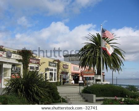 monterey california - stock photo