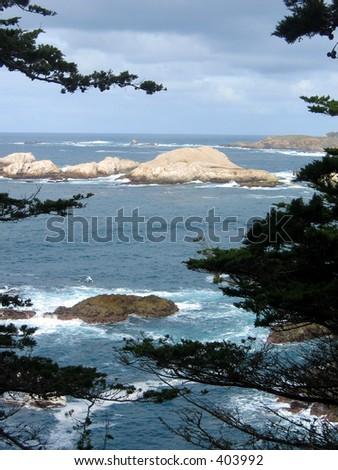 Monterey Coast - stock photo