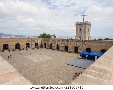 Montjuic Castle Is An Old Military Fortress Built On Top Of Montjuic Hill In  Barcelona, Good Ideas