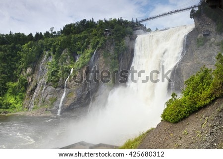 Montmorency Waterfall, Quebec City, Quebec, Canada