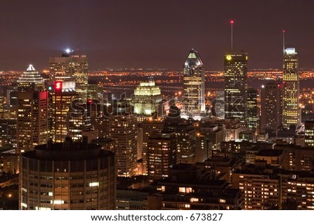Montreal at Night 1