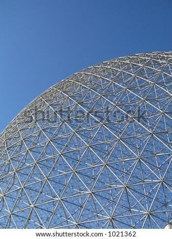 montreal biosphere - stock photo