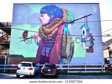 Mural stock photos royalty free images vectors for Creative mural art