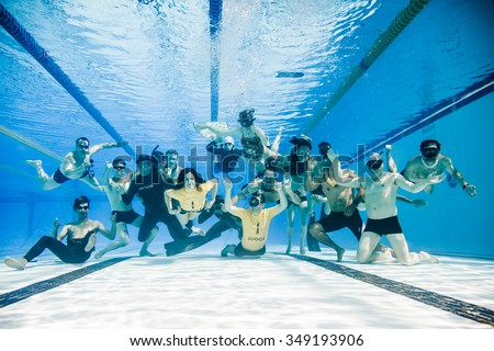 Olympic Swimming Pool Underwater olympic pool stock images, royalty-free images & vectors