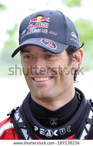 MONTREAL - JUNE 8: The Australian Formula 1 Driver Mark Webber meets the medias during the Montreal Grand Prix 2011, on June 8, 2011 in Montreal, Quebec, Canada.
