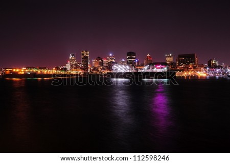 Montreal skyline, Canada - stock photo