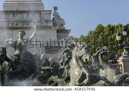 Monument aux Girondins - Bordeaux, France