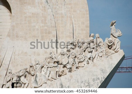 Monument to the Discoveries - Lisbon - Portugal