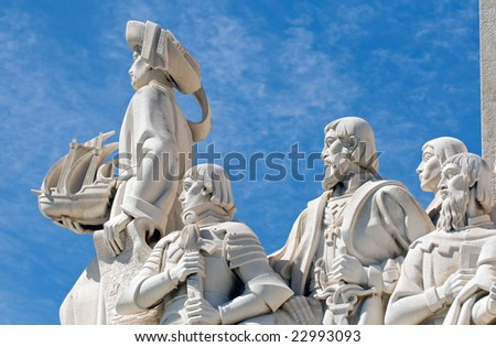 Monument to the Discoveries (Padrao dos Descobrimentos) - stock photo
