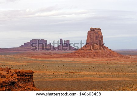 Monument Valley from the North Window Overlook