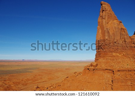 Monument Valley scenery, Arizona