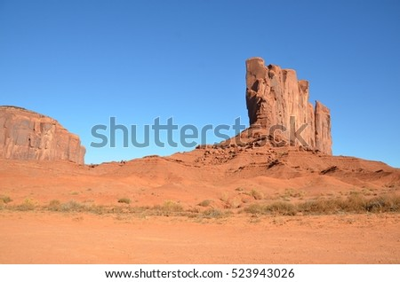 Monument Valley Tribal Park in Utah, USA