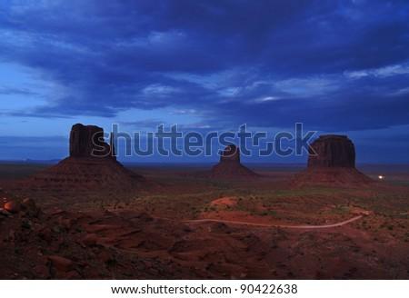 Monument Valley, Utah - stock photo