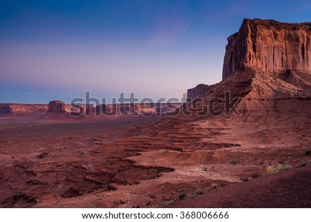 Monument Valley, Utah, USA - stock photo
