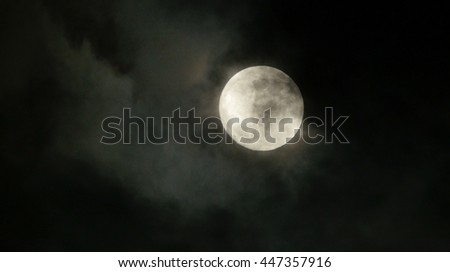 moon night sky background. spooky light and darkness scene