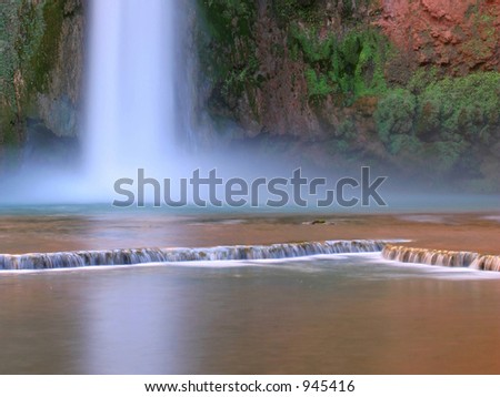 Mooney Falls - stock photo