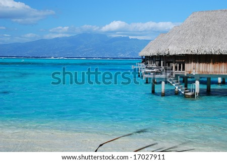 Moorea Resort - stock photo