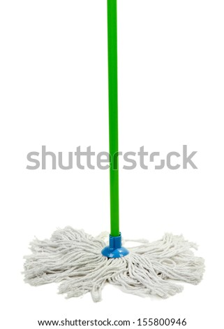 Mop isolated on white