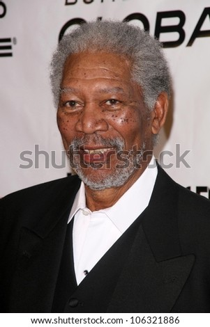 Morgan Freeman at the 6th Annual 'Living Legends of Aviation' Awards Ceremony. The Beverly Hilton Hotel, Beverly Hills, CA. 01-22-09 - stock photo