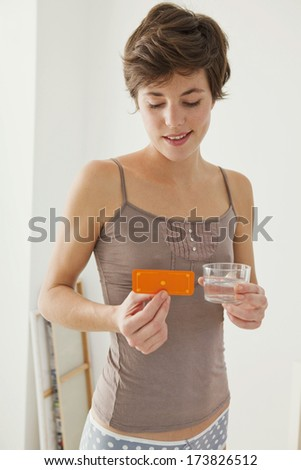 Morning-After Pill - stock photo