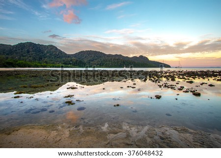 Morning at Datai Beach Langkawi