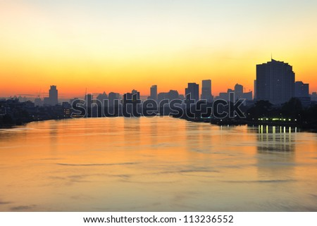 Morning bangkok - stock photo