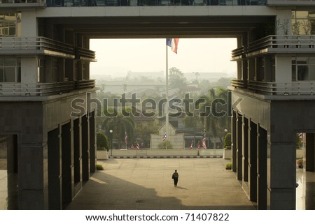 Morning Working Day - stock photo