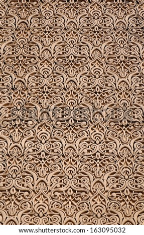 Moroccan architecture decoration