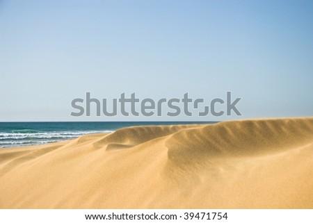 Moroccan Desert - stock photo