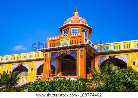 Moroccan style architecture design. - stock photo