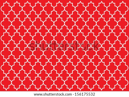 Moroccan Style Pattern - stock photo