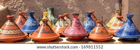 Moroccan tagine  - stock photo