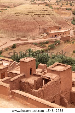 Adobe house stock images royalty free images vectors for Adobe roof