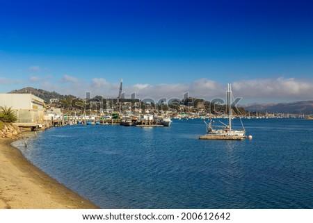 Morro Bay, California, USA - stock photo