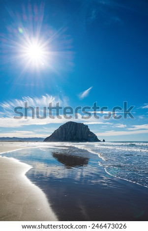 Morro Rock, California, USA
