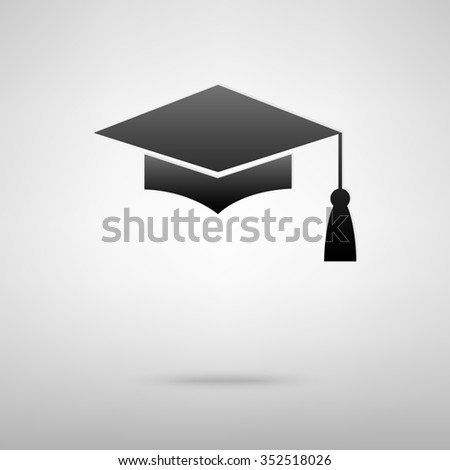 Stock photos royalty free images vectors shutterstock for Graduation mortar board template