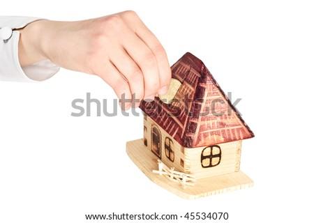 Mortgage - stock photo