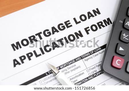 Mortgage loan - stock photo