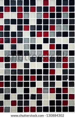 mosaic background - stock photo